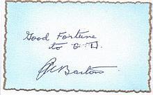 Robert A. 'Butch' Barton Very Rare Battle of Britain Signature 1.