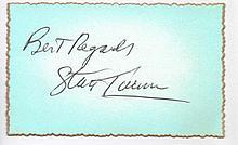 Percival Stanley Turner Very Rare Battle of Britain Signature 2.