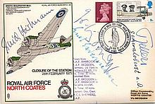 Rudel, Hartmann Rare Luftwaffe ace signed RAF North Coates FDC
