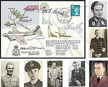 Top German WW2 VIPs signed Flying Fortress FDC