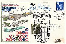 Sir Frank Whittle & Hans O'Hain Farnborough Air