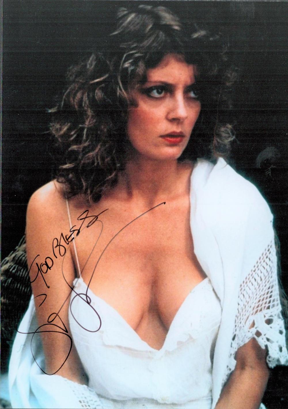 Susan Sarandon signed 10x8 colour photograph.