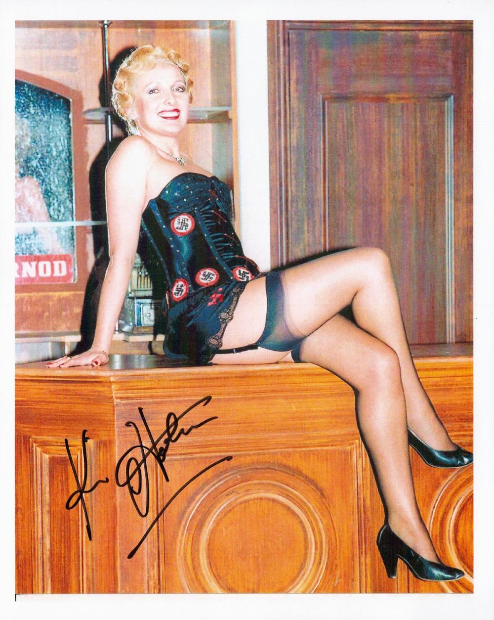 Kim Hartman signed 10x8 Allo Allo colour photo.