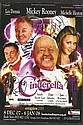 Andy Scott Lee, Les Dennis & Michell Heaton signed colour promo leaflet for the panto Cinderella  - mounted to 12 x 8 black card