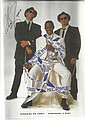 Antonio Fargus signed 12 x 8 colour magazine photo from the second Blues Brothers movie, best known ans Huggy Bear in Starsky and Hutch
