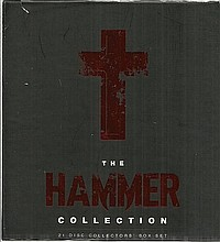 Hammer Horror Signed DVD collection, 21 Disc box