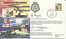 JS/50/41/2c - Battle of Cape Matapan. Flown by