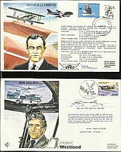 40 Test Pilots Special signed series covers in
