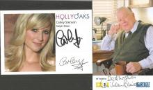 TV/film signed collection. 6 promo photos.  Names