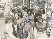Multisigned 1970s - 1980s British Television Celeb
