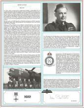 Group Captain Ken Batchelor signed pilot profile p