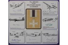 Military Cross WWII Veterans autographs. A section