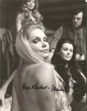 Eva Rueber-Staier signed 10x8 b/w James Bond photo