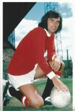 George Best four stunning football unsigned 12x8 colour photos. Good condition.