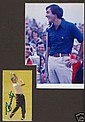 Seve Ballesteros Signed Matted Photo and Autograph
