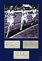 Bannister, Chataway, Brasher Signed 4 Min Mile