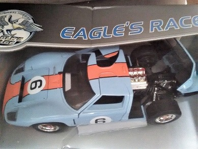 Ford Gt Le Mans  Eagles Race Gulf Number  Blue And Orange