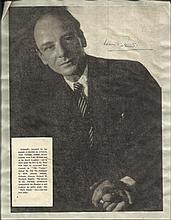 Sir John Gielgud Vintage A4 sized magazine