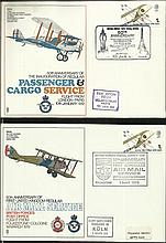 RAF SC station series of 60+ covers inc a near