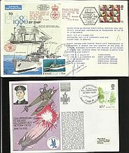 Navy Collection of 35+ covers including 18