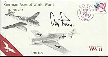 Adolf Galland scarce 1993 German Aces of World War