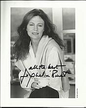 Jacqueline Bissett signed 10 x 8 black and white