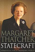 Margaret Thatcher signed soft back book