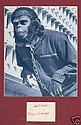 Roddy McDowell Signed Card and Planet Of Apes