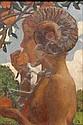 DU GARDIER Raoul (1855-1971) Pan croquant dans une, Raoul DuGardier, Click for value