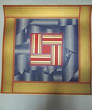 "§ Derek Hirst (British, 20th Century) - Paradox No. V, 1975 - signed lower right ""Derek Hirst"" and numbered 16/35"