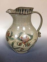A large David Grant stoneware jug,