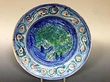 Quentin Bell, a Fulham Pottery plate,