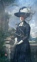 Sir William Llewellyn - Portrait of a Lady - oil on canvas, Sir William Llewellyn, Click for value