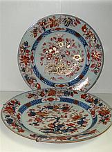 Two 18th century Imari dishes,