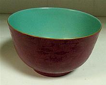 A Qianlong style bowl,