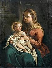 Manner of Francesco Trevisani (Italian, 1656-1746) The Madonna and Child