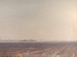 Anthony Day (British, 20th Century) September Fens signed lower left