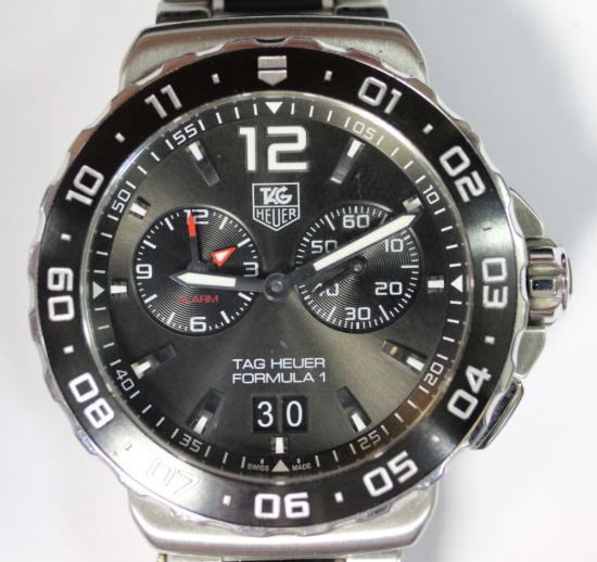 tag heuer formula 1 alarm instructions