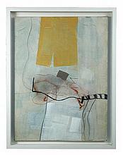 § Philip Jones (British, 1933-2008) White Opening II signed on the reverse