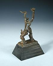 § After Ossip Zadkine (Russian/French,1890-1967), a limited edition bronze of The Destroyed City,