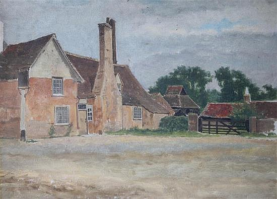 David Henry Parry Jnr (1860-1950) Houghton and Wyton, a series of six views