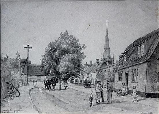 Edward Walker - Hemingford Abbots, Huntingdon