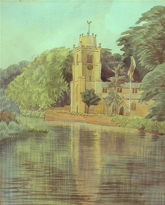 Miss A C Clay - Hemingford Grey Church