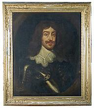 Manner of Sir Anthony Van Dyck (Flemish, mid 17th Century) Portrait of Sir Thomas Dayrell (d.1669), oil on canvas