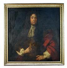 Attributed to John Riley (British, 1646-1691) Portrait of Sir Marmaduke Dayrell (d.1712) of Shudy Camps, oil on canvas