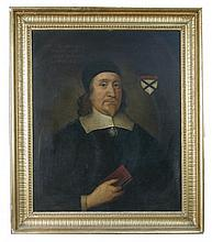 Follower of Cornelius Johnson (British, first half of 17th Century) Portrait of the Reverend Doctor Johnstone, oil on canvas