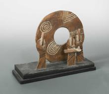 John Maltby (British, born 1936), Three Figures (Stone Circle),