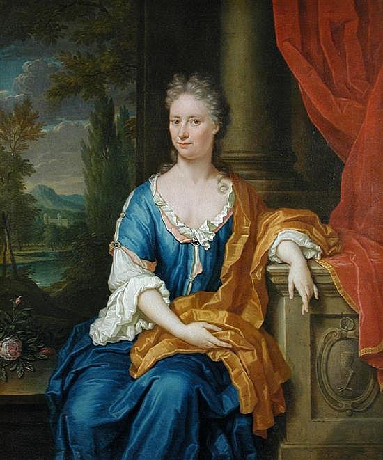 Thomas van der Wilt (Dutch, 1659-1733) Portrait of Johanna van Groenewegen-Staal (1684-173...