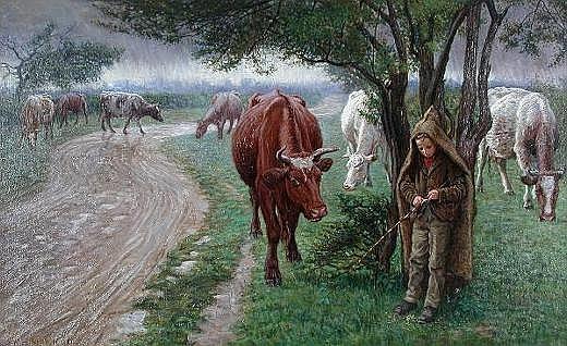 Richard Henry Brock (British, exh.1897-1915) The