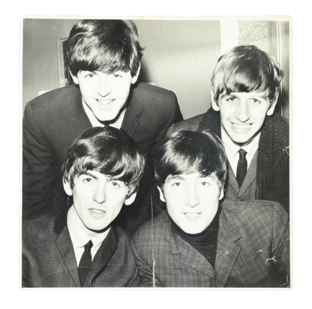 The Beatles, an original Cambridge News press photograph, 1963,